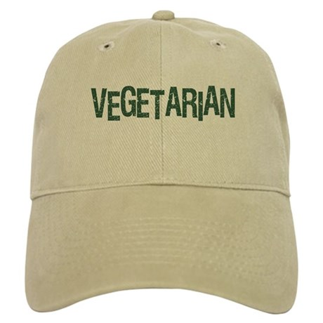 Vegetarian Cool Logo Cap