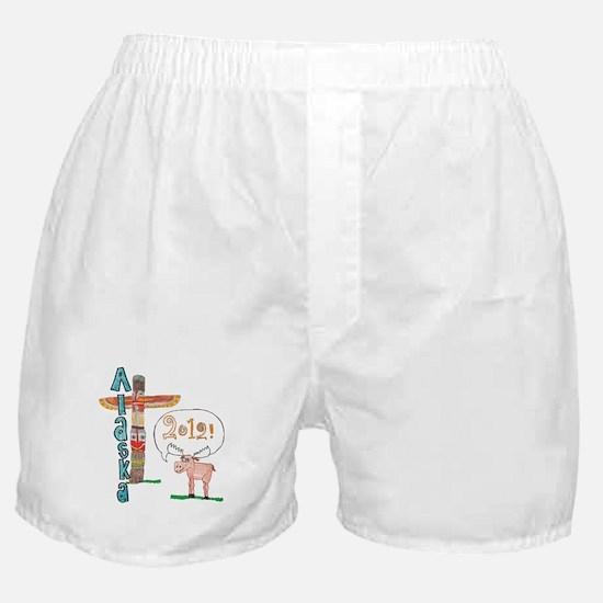 Alaska 2012 Boxer Shorts