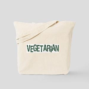 Vegetarian Cool Logo Tote Bag