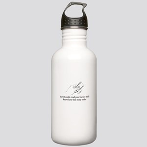 Could Read Stainless Water Bottle 1.0L