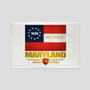 Maryland Deo Vindice Rectangle Magnet