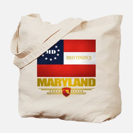 Maryland Deo Vindice Tote Bag