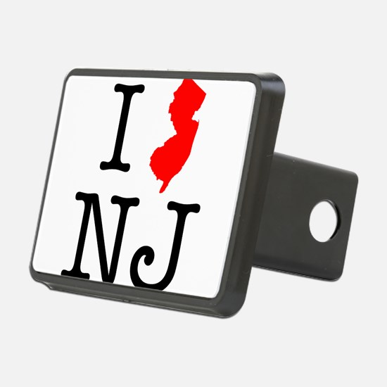 I Love NJ New Jersey Hitch Cover