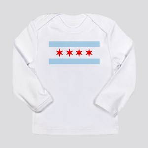 Chicago Flag Long Sleeve Infant T-Shirt