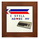 I Still Adore My C64 Framed Tile