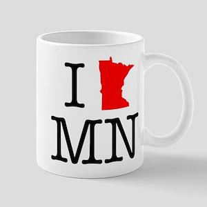 I Love MN Minnesota Mug