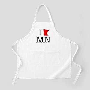 I Love MN Minnesota Apron