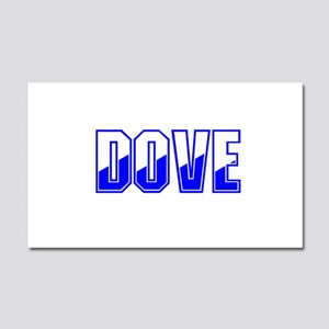 Dove Twotone Car Magnet 20 x 12