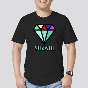 Shawol Diamond Men's Fitted T-Shirt (dark)