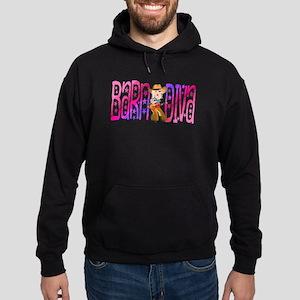 Funny Barnyard Diva Hoodie (dark)