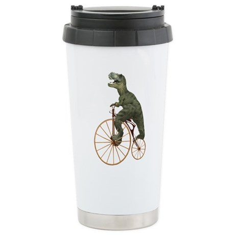 Tyrannosaurus Rex Penny Farthing Stainless Steel T