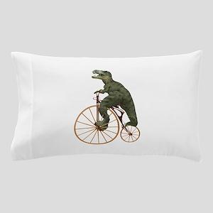 Tyrannosaurus Rex Penny Farthing Pillow Case