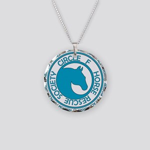 Circle F Horse Rescue Society Necklace Circle Char