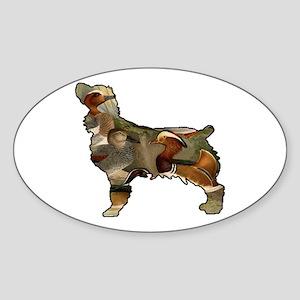 Boykin and Ducks Sticker (Oval)