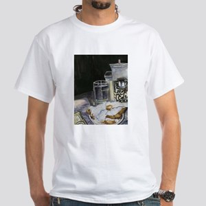 Table of New Orleans Beignets White T-Shirt