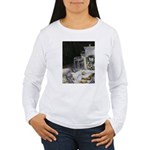 Table of New Orleans Beignets Women's Long Sleeve