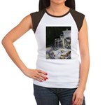 Table of New Orleans Beignets Women's Cap Sleeve T
