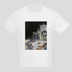 Table of New Orleans Beignets Kids Light T-Shirt