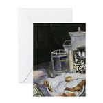 Table of New Orleans Beignets Greeting Card