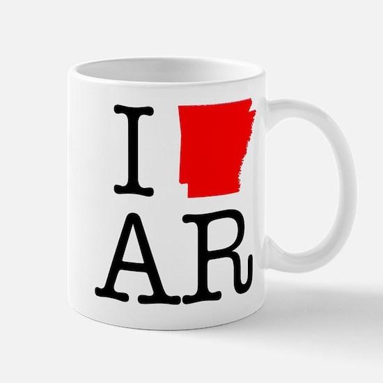 I Love AR Arkansas Mug