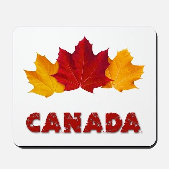 Maple Leaf Celebration Mousepad