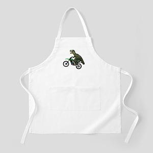Dirt Bike Wheelie T Rex Apron