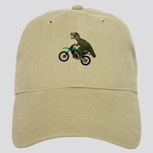 Dirt Bike Wheelie T Rex Cap