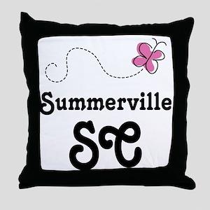 Summerville South Carolina Throw Pillow