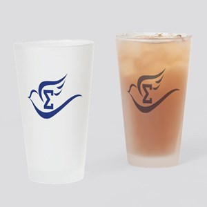 Soaring Sigma Dove Drinking Glass
