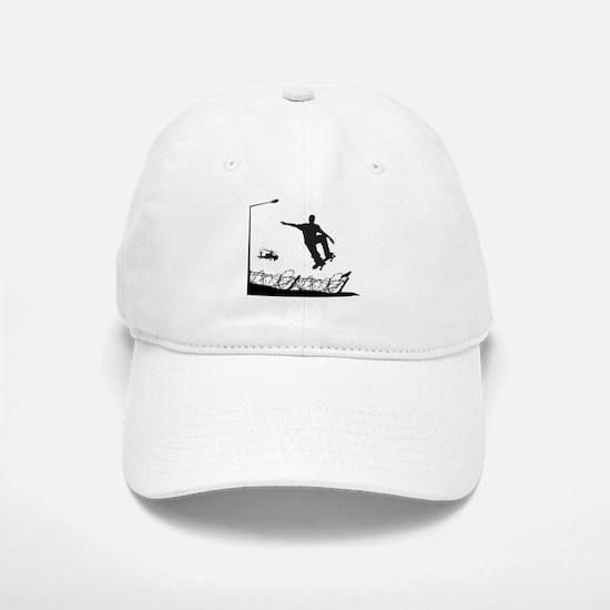 Skateboarder Freedom Baseball Baseball Cap