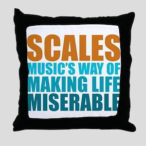 Scales Throw Pillow
