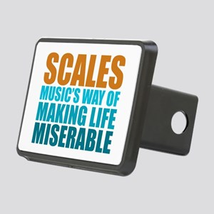 Scales Rectangular Hitch Cover