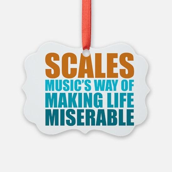 Scales Ornament