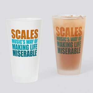Scales Drinking Glass
