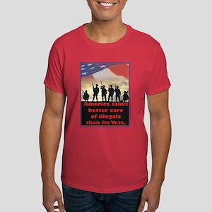 America takes better care Dark T-Shirt