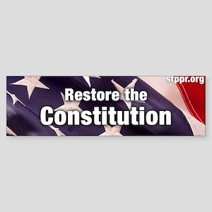 Restore the Constitution Sticker (Bumper)