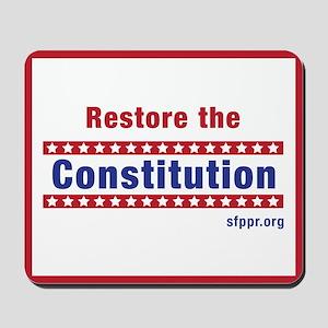 Restore the Constitution Mousepad