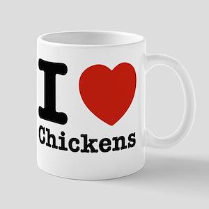 I Love Chicken Mug