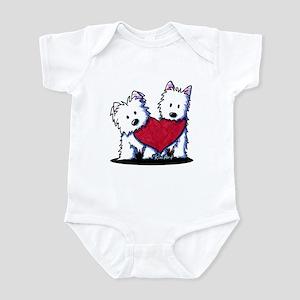 Heartfelt Westies Infant Bodysuit