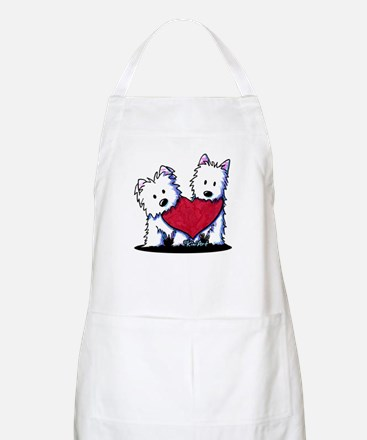 Heartfelt Westies Apron