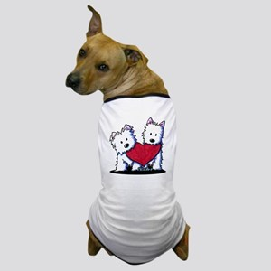 Heartfelt Westies Dog T-Shirt