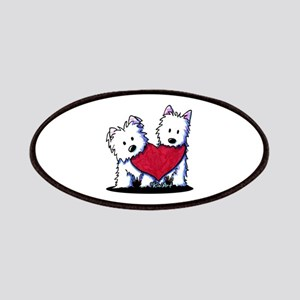Heartfelt Westies Patches