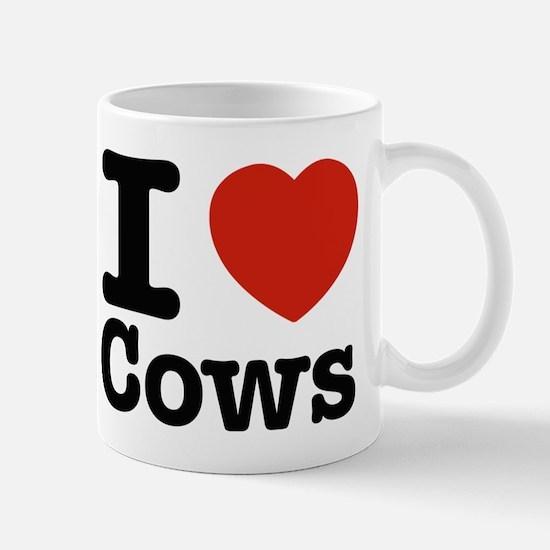 I Love Cows Mug