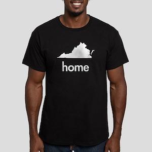 VAhome Men's Fitted T-Shirt (dark)