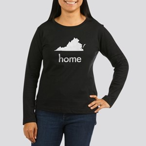 VAhome Women's Long Sleeve Dark T-Shirt