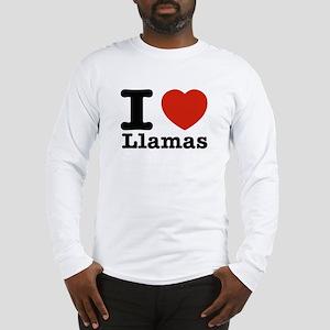 I Love Liamas Long Sleeve T-Shirt