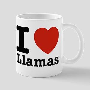 I Love Liamas Mug