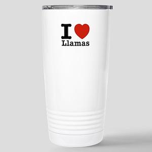 I Love Liamas Stainless Steel Travel Mug