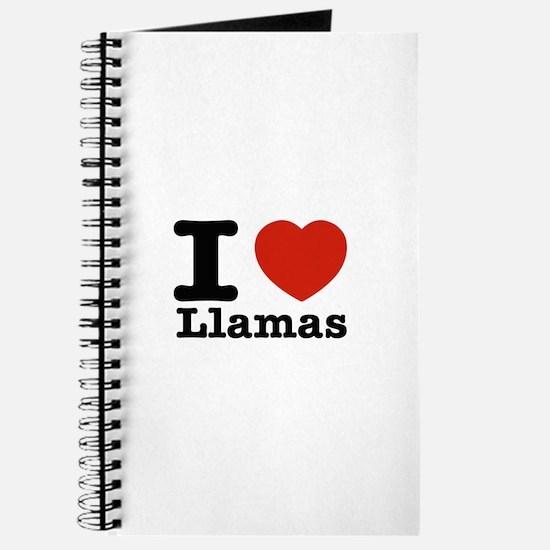 I Love Liamas Journal