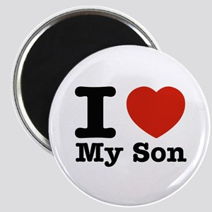 I Love My Son Magnet